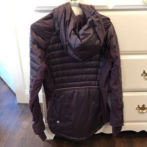 f0902eb13 Lululemon Down for a run Winter running jacket